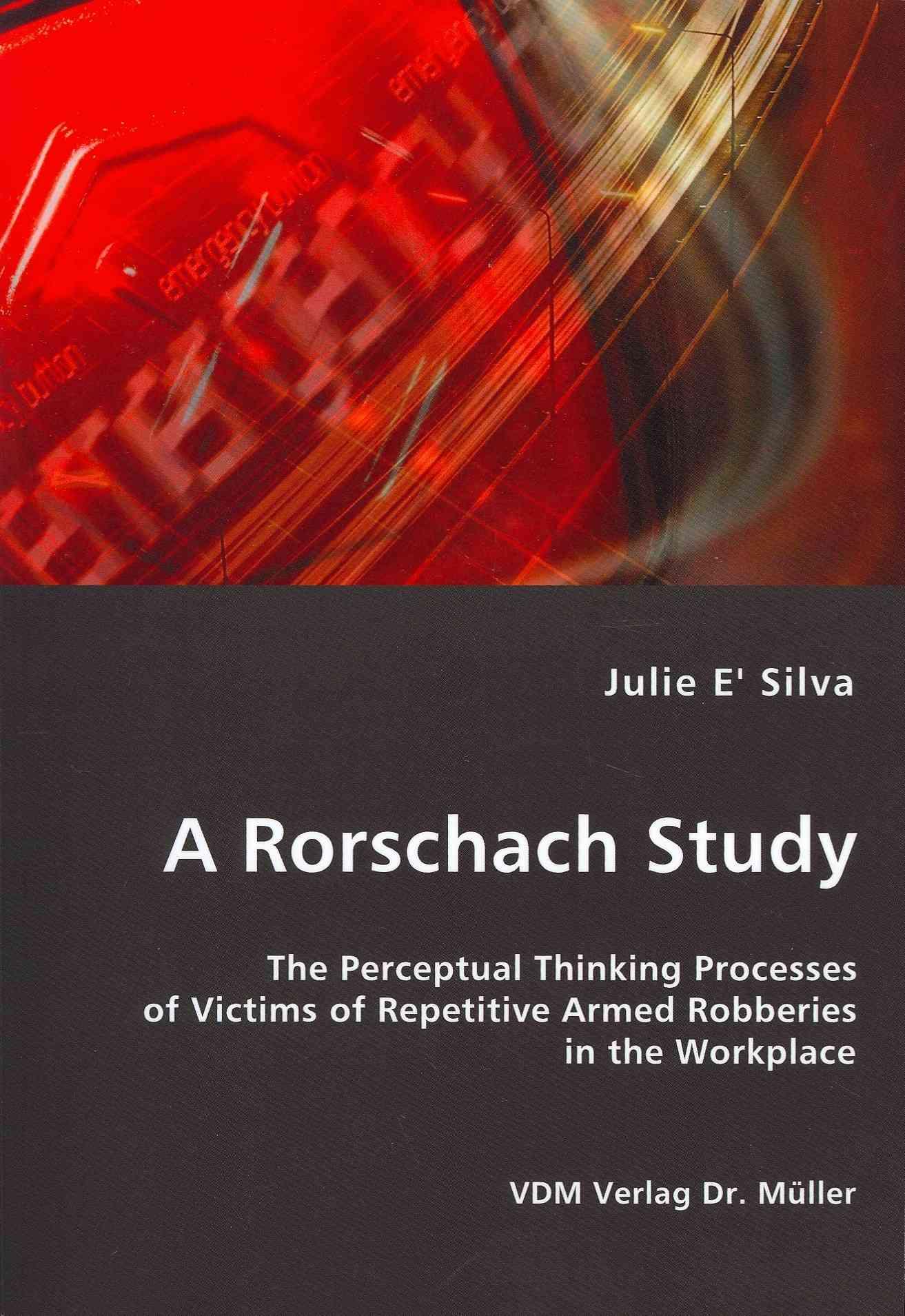 A Rorschach Study By E' Silva, Julie
